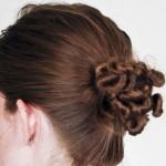 آموزش تصویری مدل شینیون موی اسپرت زنانه و دخترانه/ بافت مو