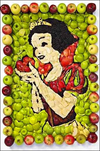 مدل ها ی زیبا ازسبزی آرایی و میوه آرایی/سفره آرایی