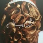 آموزش شینیون عربی مناسب برای مدل مو عروس/بافت مو