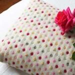 آموزش دوخت کوسن با خالهای رنگی/خیاطی