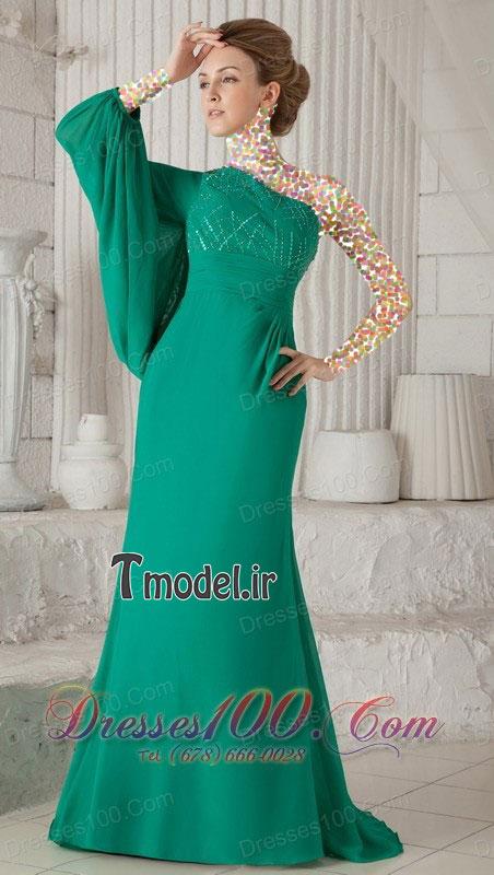 مدل لباس شب دخترانه بلند/مدل لباس