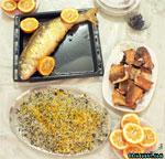 طرز تهیه ماهی شکم پر /غذای مخصوص عید