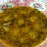 طرز تهیه آش گوجه سبز/آشپزی