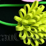 آموزش ساخت گل صد پر با بلندر/آموزش گل سازی