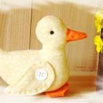 آموزش تصویری دوخت اردک پارچه ای/ عروسک