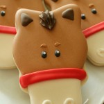 تزیین شیرینی های نوروزی به شکل اسب /شیرینی مخصوص عید