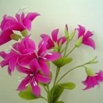 آموزش ساخت گل جورابی/آموزش گل سازی
