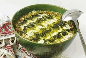 طرز پخت آش کشکبا/غذای محلی