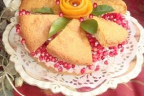 طرز تهیه کیک انار مخصوص شب یلدا/شیرینی مخصوص شب یلدا