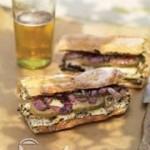 آموزش ساندویچ مرغ گریل شده با خردل/آشپزی