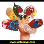 طرز ساخت عروسک انگشتی /عروسک