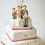 مدل های تزیین کیک عروسی / وسایل مورد نیاز عروس