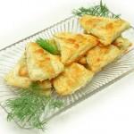 روش تهیه  مثلث خامه ای/شیرینی مخصوص عید