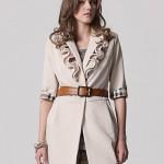 مدل های جدید کت زنانه یقه حلزونی/مدل لباس