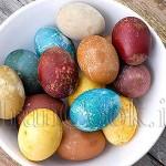 آموزش رنگ کردن تخم مرغ با رنگهای طبیعی/سفره هفت سین