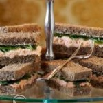 طرز تهیه ساندویچ پذیرایی سالمون/آشپزی