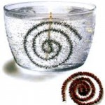 آموزش شمع ژله ای برفی با تزئین نوار پُرزداز به صورت مارپیچ/شمع سازی
