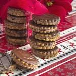 طرز تهیه شیرینی کراکر شکلاتی/شیرینی مخصوص عید