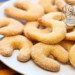 طرز تهیه شیرینی وانیلی هلالی/شیرینی مخصوص عید