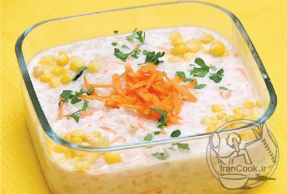 طرز تهیه  سوپ جو با سس شیر/آشپزی