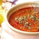 آموزش  سوپ ورمیشل/آشپزی