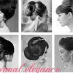 گالری تصاویر شینیون موی باز و بسته مدل ۲۰۱۴/بافت مو