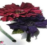 مدل های زیبا از گل های چرمی/کار باچرم