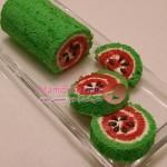 طرز تهیه رولت هندوانه /شیرینی