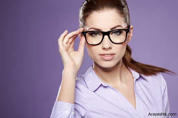 ۵ توصیه آرایشی به خانم هایی که عینک می زنند/آرایش وزیبایی