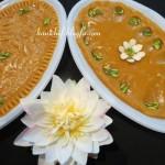 پخت حلوای زعفرانی/دسر