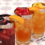 طرز تهیه نوشیدنی با میوه های بهاری/نوشیدنی