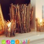 آموزش ساخت جاشمعی چوبی  /شمع سازی