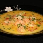 آموزش  سوپ خوشمزه میگوی خشک/آشپزی