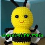 آموزش بافت زنبور / عروسک