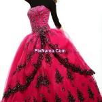 لباس شب پفی/مدل لباس