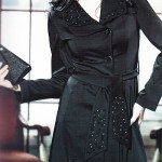 مدل مانتو مشکی/مدل لباس