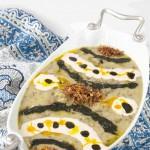 طرز تهیه آش خیار چنبر(چمبر) /غذای محلی