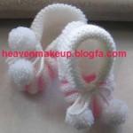 آموزش بافت یک نوع پاپوش برای کوچولوهای ناز/بافتنی