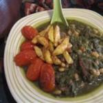 طرز تهیه  خورش تره ( کردســـــــتان)/غذای محلی