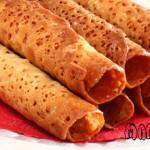 طرز تهیه ویفر بادامی/شیرینی مخصوص عید