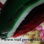 درست کردن ژله به شکل هندوانه/دسر ویژه شب یلدا