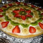 طرز تهیه پیتزای میوه جات/آشپزی