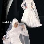 مدل لباس عروس محجبه /وسایل مورد نیاز عروس