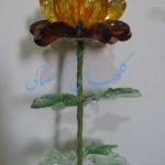 آموزش شاخه گل کوکب/کریستال بافی