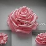 آموزش گل رز با روبان/آموزش  گل سازی