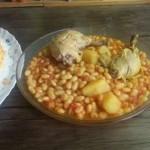 طرز تهیه فاصولیا با مرغ و لوبیا سفید غذایی عربی/آشپزی