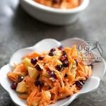طرز تهیه  سالاد هویج و انار/سالاد