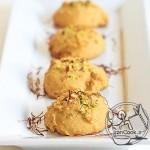 طرز تهیه  شیرینی پسته ای زعفرانی/شیرینی مخصوص عید